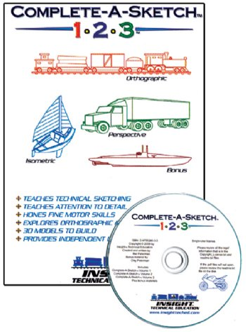 Complete-A-Sketch 1-2-3 CD