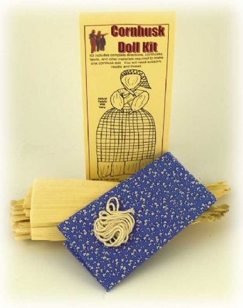 Cornhusk Doll Kit, Girl