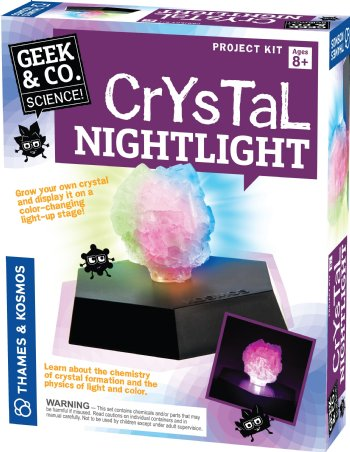 Crystal Nightlight - Geek