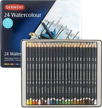 Derwent 24 Watercolour Pencils