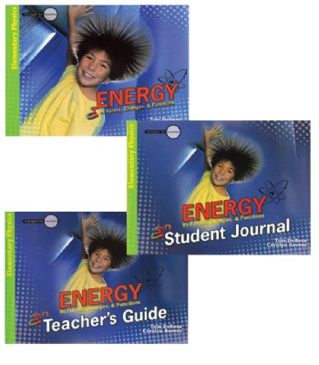 Set of 3 Energy Books