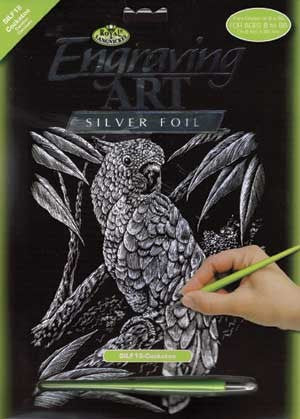 Silver Engraving - Cockatoo