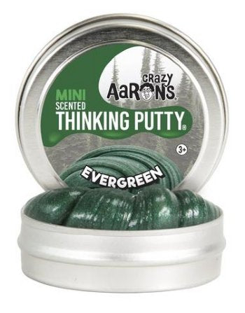 Evergreen Scented Thinking Putty!