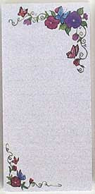 Butterfly - Magnetic List Pad