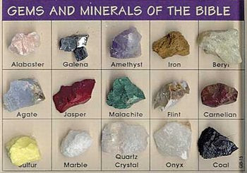 Gems & Minerals of the Bible