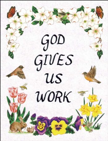 *God Gives Us Work - Jewel