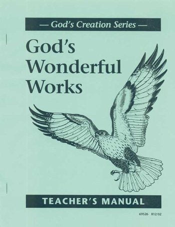God's Wonderful Works Tchr Gde