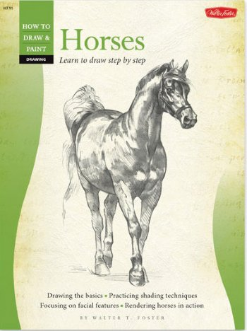 Horses-Step by Step Drawing