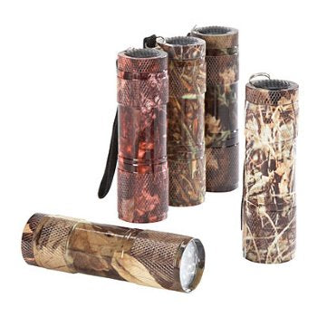 LED Jr Camo Survival Flashlight