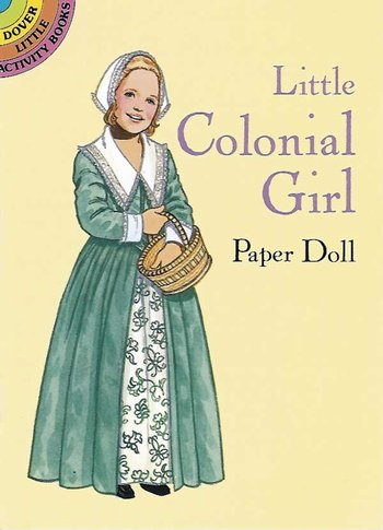 *Colonial Girl Paper Doll-sd
