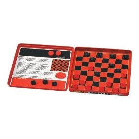 Magnet Game Tin - Checkers