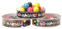 Magnet Marbles - set of 20