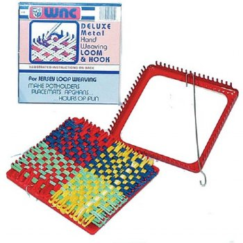 Metal Loom & Cotton Loops
