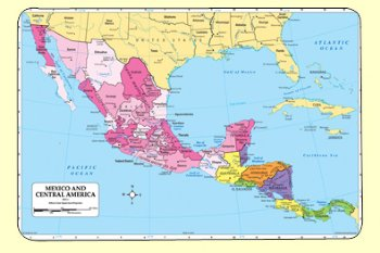 Mexico/Central Am. Mat on costa rica, western europe, europe map, canada map, africa map, south america, carribean map, united states of america, cuba map, greater antilles, caribbean sea, florida map, caribbean map, guatemala map, latin america, north africa, north america, greater antilles map, lesser antilles, haiti map, san salvador, japan map, united states map, honduras map, australia map, uruguay map, the americas map, texas map, panama map, brazil map, el salvador, jamaica map, indigenous peoples of the americas,