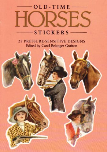 Old-Time Horses Stickers