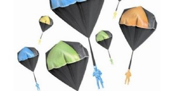 Parachute Man Glow IN Dark