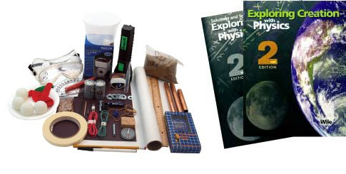 Physics Books & Lab Kit