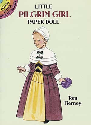 *Paper Dolls Pilgrim Girl-sd