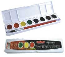 Watercolors set of 8