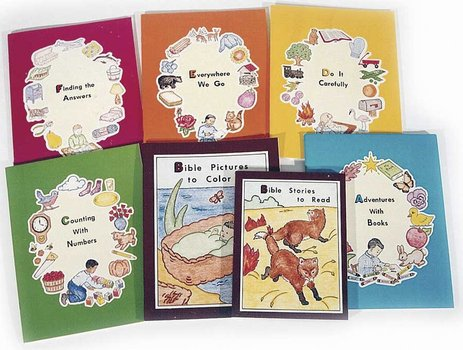 Preschool ABC series(Set of 7)