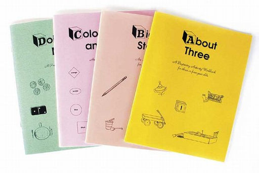 Preschool Activity set of 4
