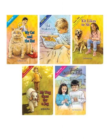 CLP Preschool Readers-Set of 5