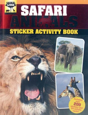 Safari Sticker Book