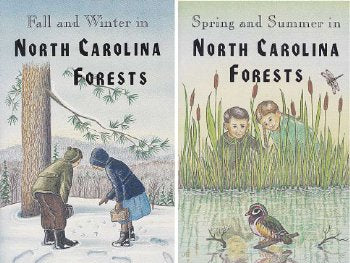 Set of 2-In NC Forests Books