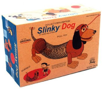 Slinky Dog - Pull Toy