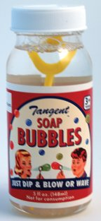 Tangent Soap Bubbles - Bottle