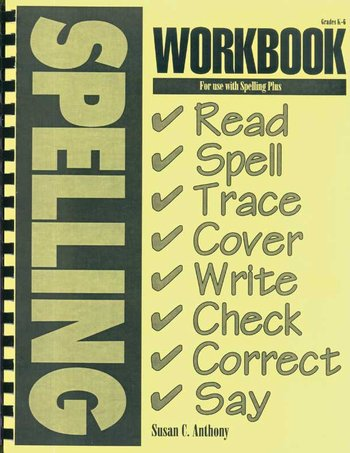 Spelling Plus Workbook (K-6)