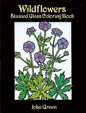 Wildflowers-Stained Glass c.b.