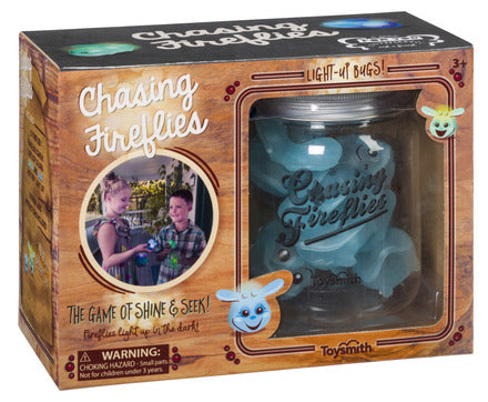Chasing Fireflies-The Game of Shine And Seek