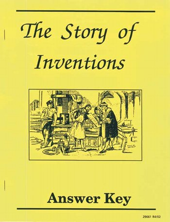 Story of Inventions-Answer Key