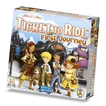 Ticket To Ride- First Journey Europe