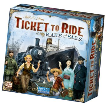 Ticket to Ride Rails to Sails
