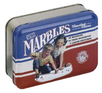 Marbles, Toy Tin