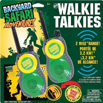 Walkie Talkies - Safari