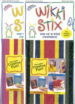 Wikki Stix -Set of Both Colors