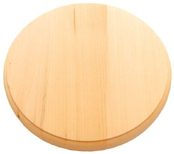 Circle Basswood Plaque - 8""