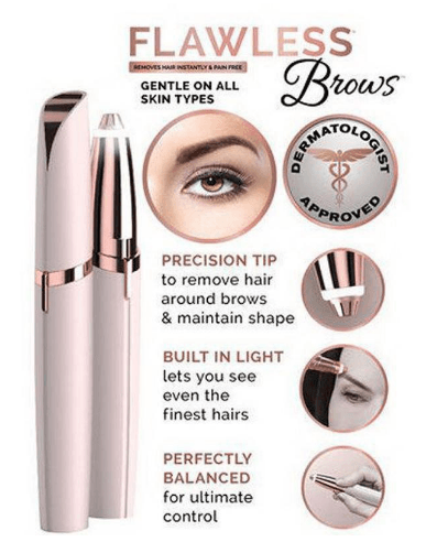 Smartest Flawless Eyebrow Shaver ⭐⭐⭐⭐⭐