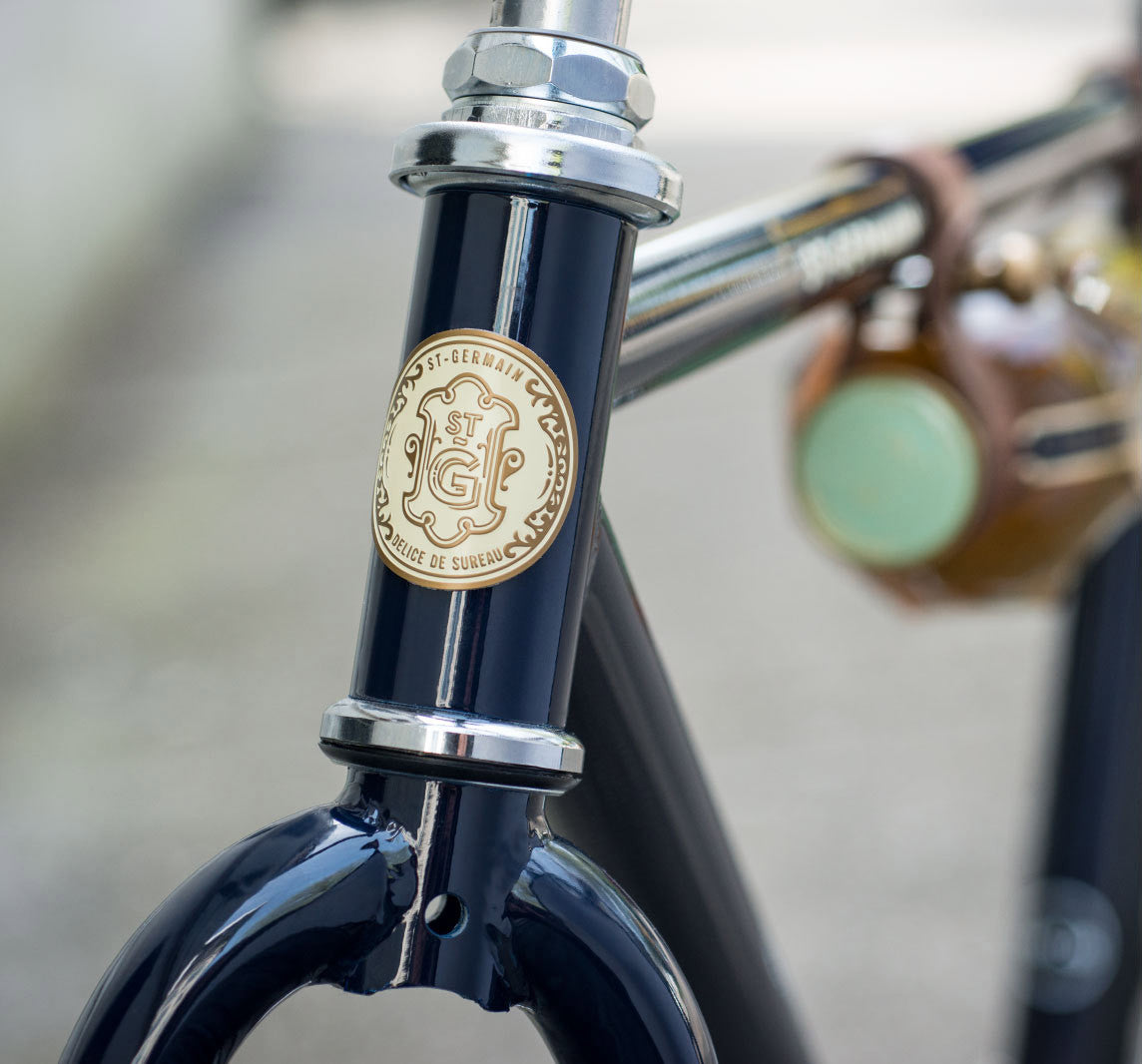 St-Germain Bicycle by Linus detail