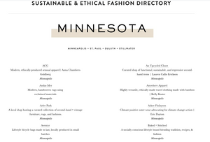 Threaded Sustainable & Ethical Fashion Directory