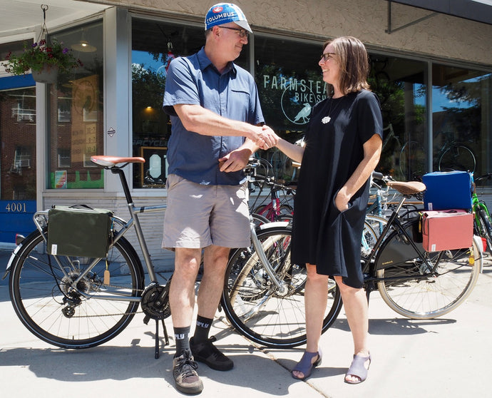 Partnership:  Farmstead Bike Shop