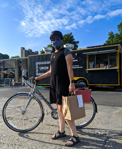 äventyr bicycle bags Bike Date:  Sociable Cider Werks & Union Hmong Kitchen