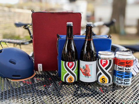 äventyr bicycle bags supports Fair State Brewing