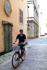 Kurt, äventyr Owner, cycling in Stockholm 2008