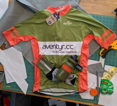 The äventyr Kit, used at Land Run 100