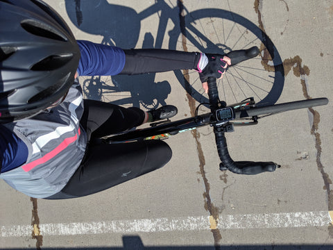 DeAnn, äventyr Owner, cycling FLOW early season 2019