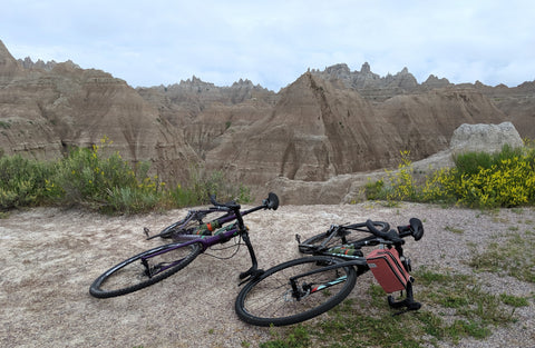 DeAnn & Kurt's (äventyr Owner's) trek Crockett's in The Badlands, 2019